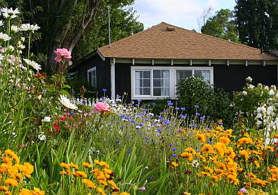 Ogród na wsi