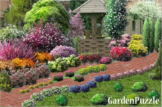 Galeria Projekt z Garden Puzzle Ogrody e ogrodycom